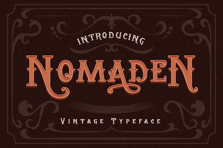 Vintage Typeface Font example image 1