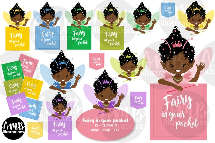 Fairy girls, fairy in my pocket, graphics AMB-2973