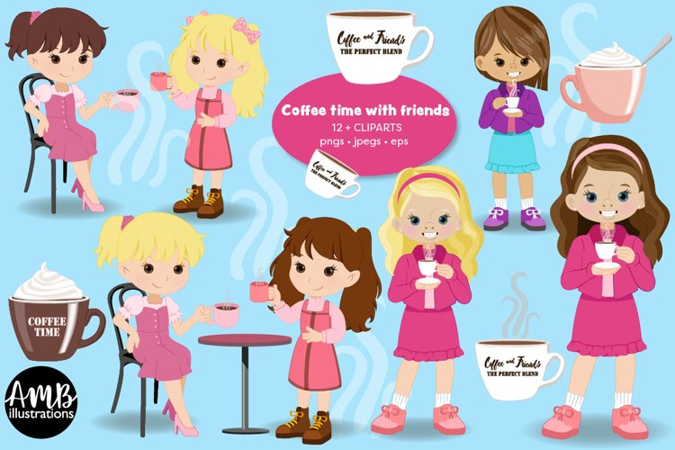 Coffee, Tea or hot chocolate with girl friends