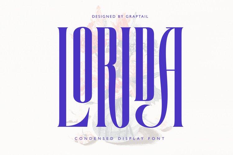 Lorida - Condensed Display