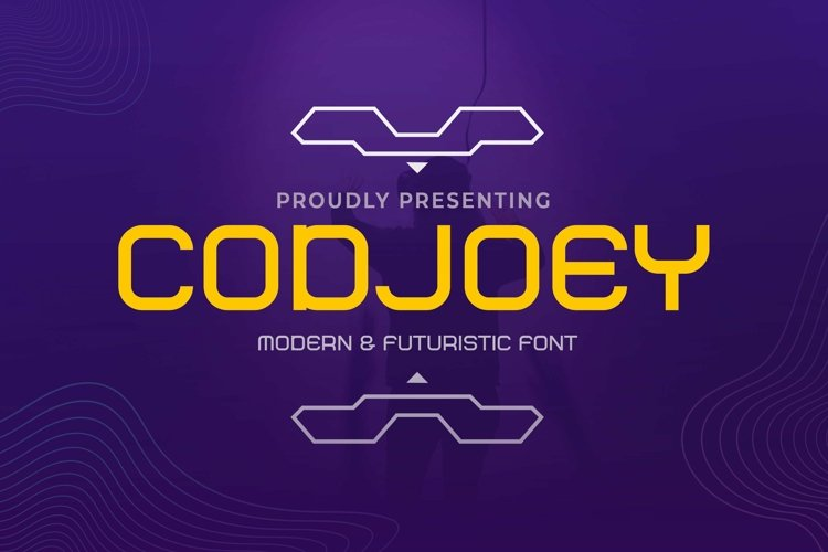 Web Font Codjoey - Modern Display Font example image 1