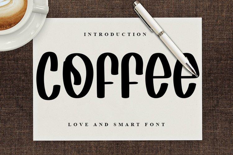 Coffee - Fresh Handwritten Font example image 1