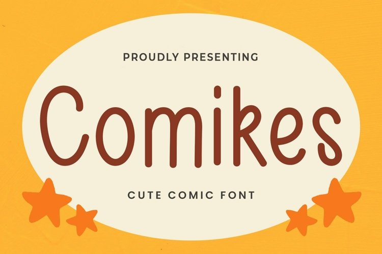 Web Font Comikes - Cute Display Font example image 1
