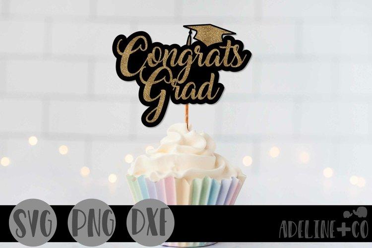 congratulations grad cake topper