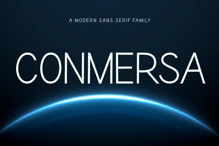 Conmersa - Minimalist Sans Serif Family
