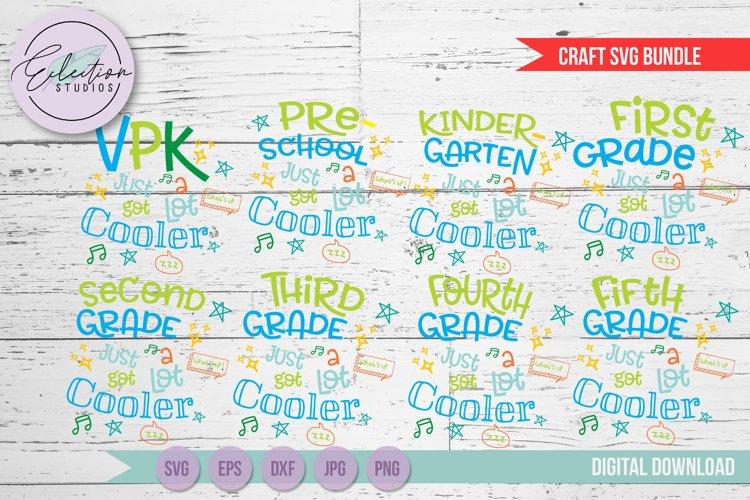 Back to School SVG Bundle, First Day of School shirt Bundle
