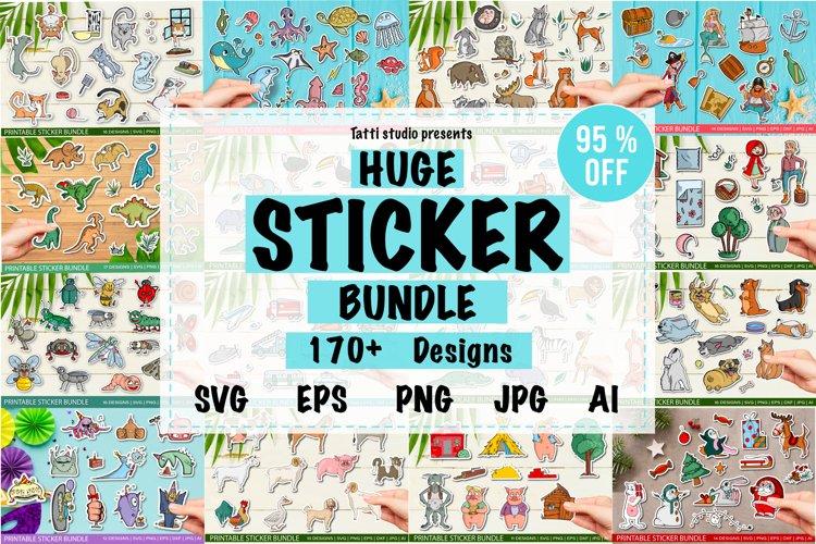 Huge sticker bundle