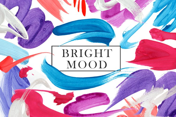 Bright Mood Abstract Collection