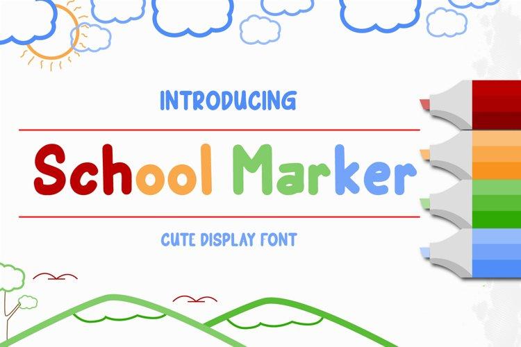 school Marker example image 1