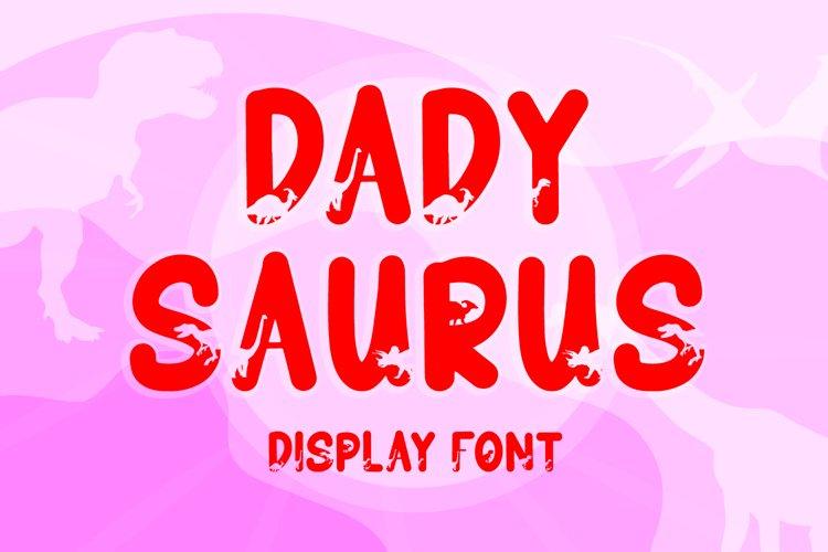 Dadysaurus example image 1
