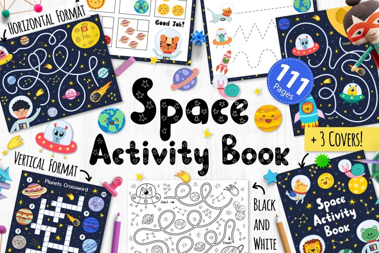 Space Activity Pages Collection