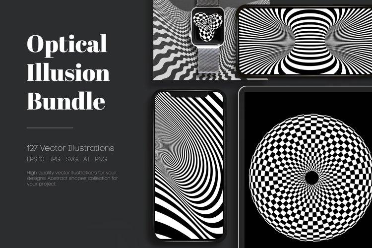 127 Optical Illusion Vector