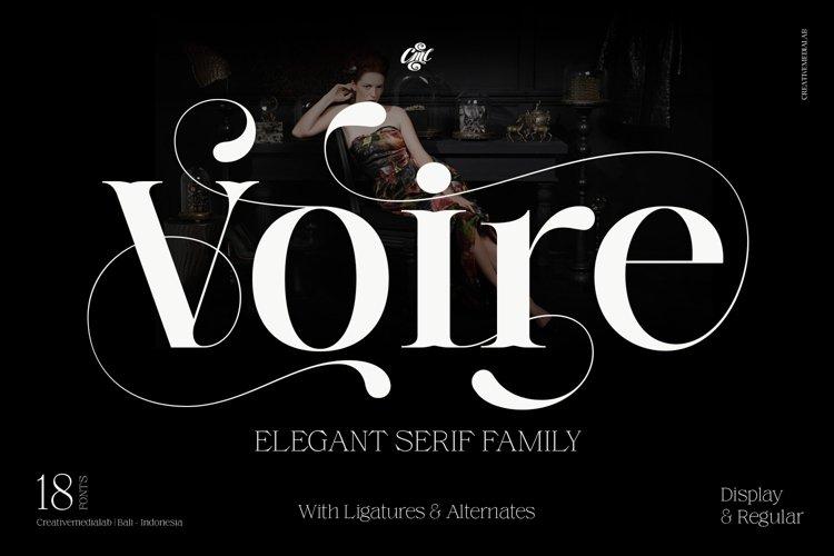 Voire - Beauty Elegant Serif family example image 1