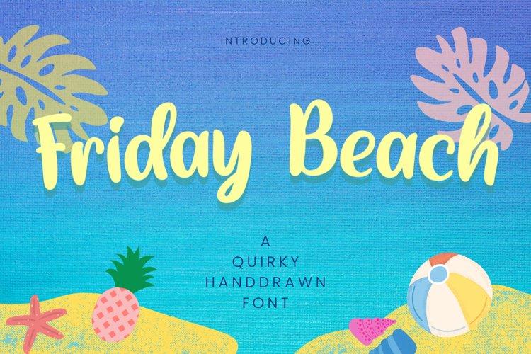 Friday Beach example image 1