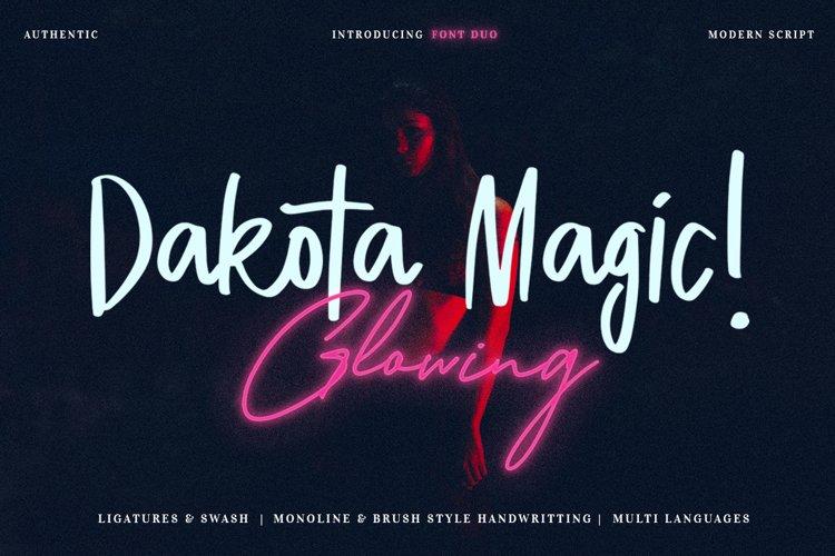 Dakota Magic Glowing example image 1