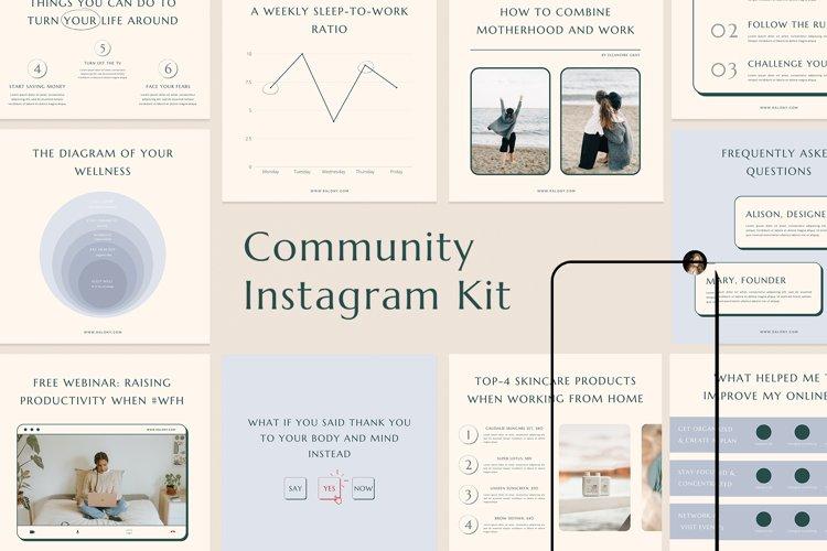 Community Leader Instagram Templates example image 1