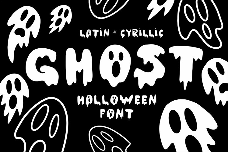 GHOST Font example image 1