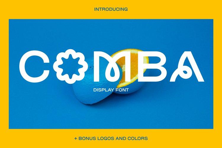 COMBA display Type & Logos example image 1