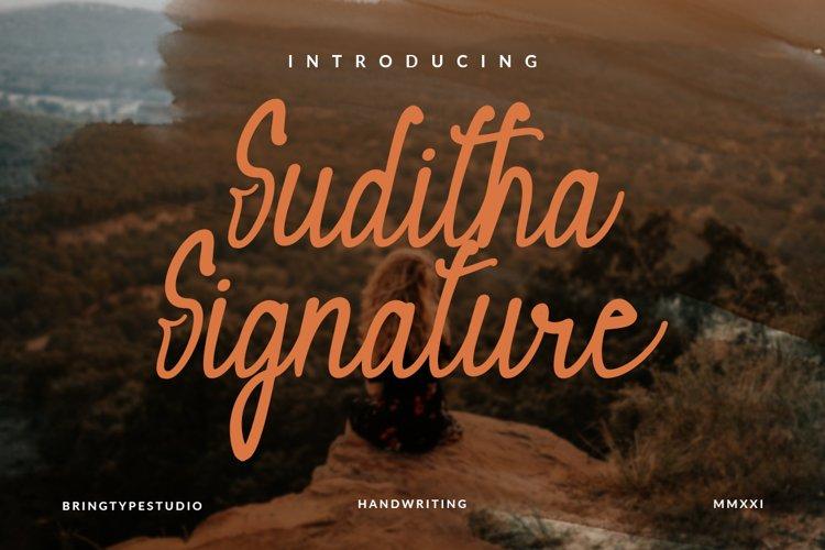 Suditha Signature example image 1