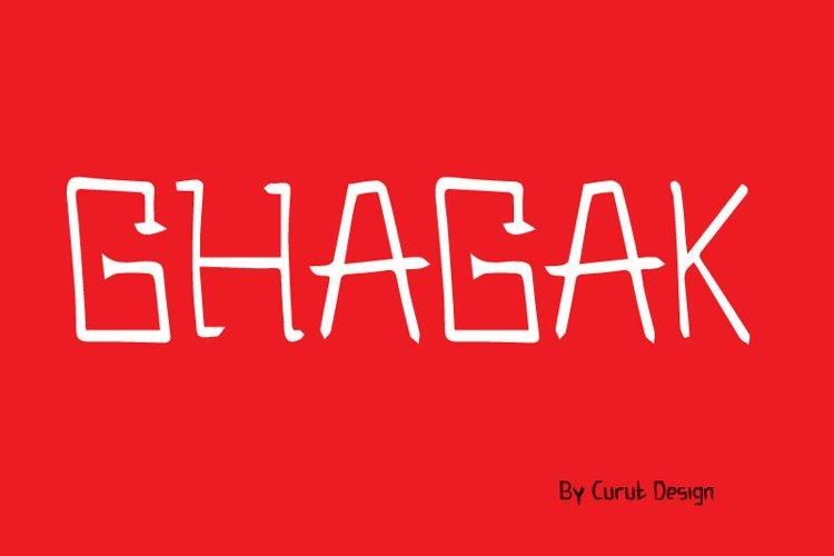 Ghagak example image 1