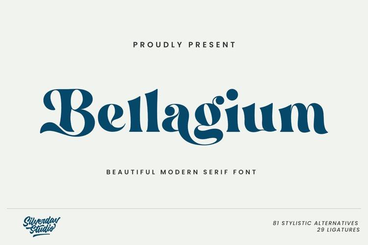 Bellagium - Modern Serif Font
