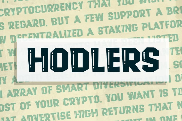 Hodlers example image 1