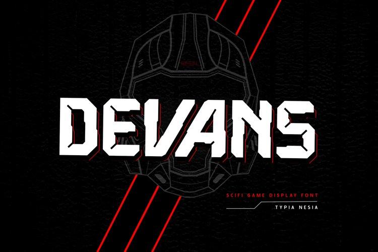 Devans example image 1
