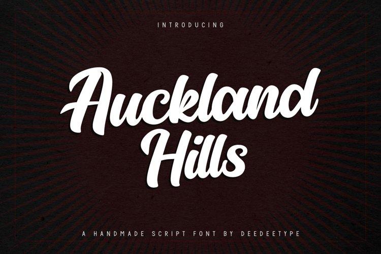 Auckland Hills