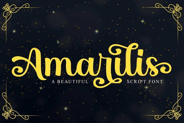 Amarilis example image 1