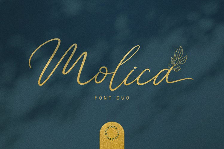 Molica - Font Duo example image 1