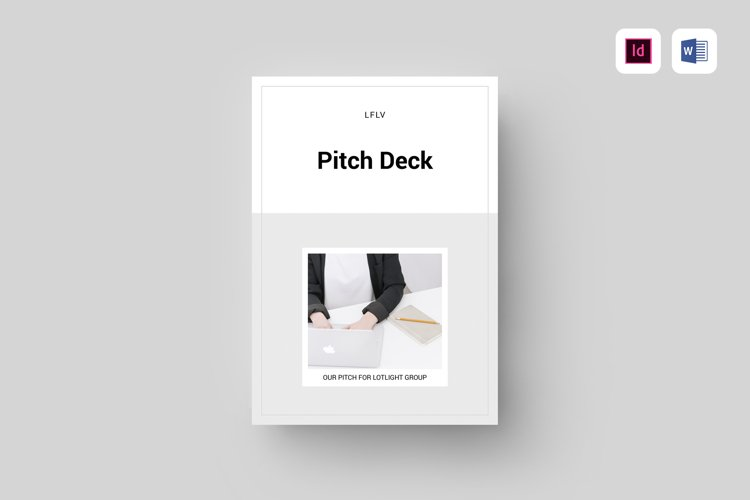 Pitch Deck | MS Word & Indesign