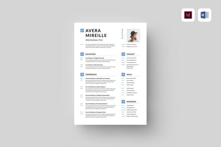 CV | MS Word & Indesign