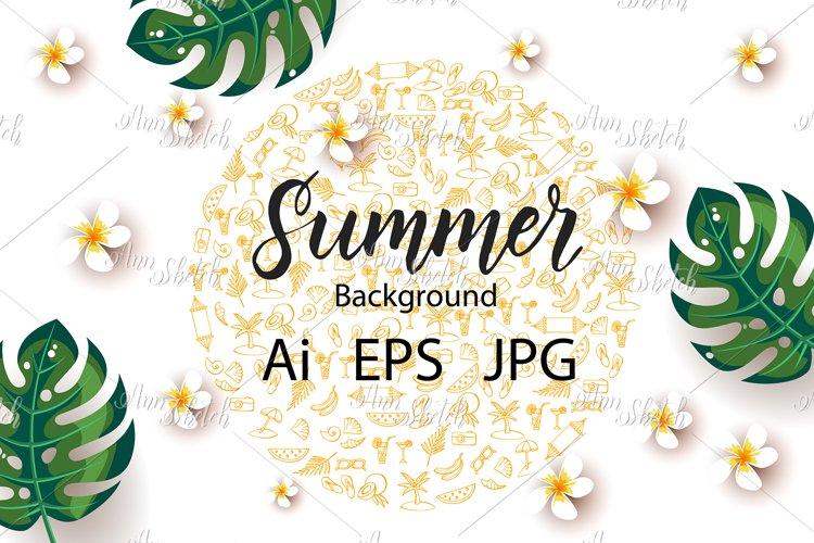 Vector Summer template