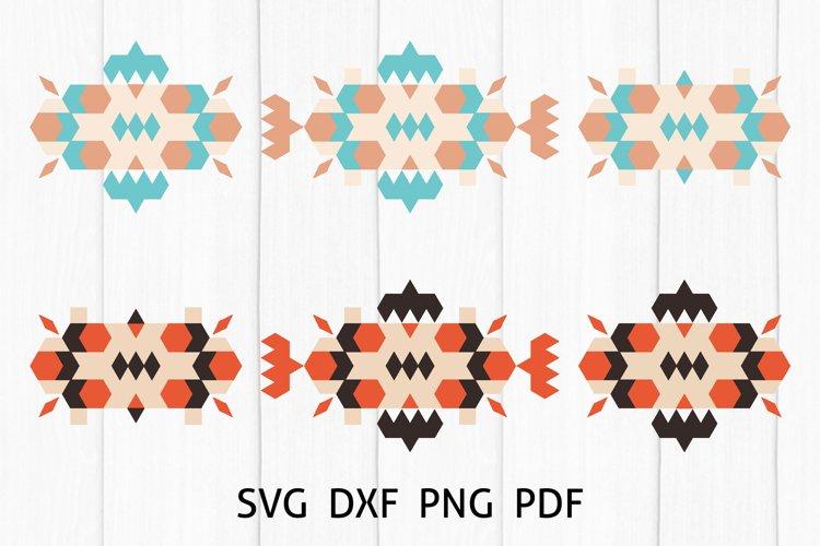 Aztec Southwestern Sign SVG, Native American Boho design