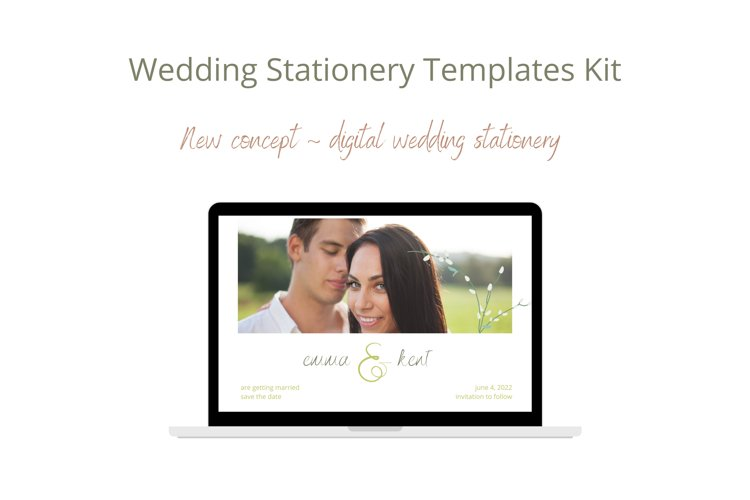 Wedding Invitation Canva Templates. Electronic stationery.