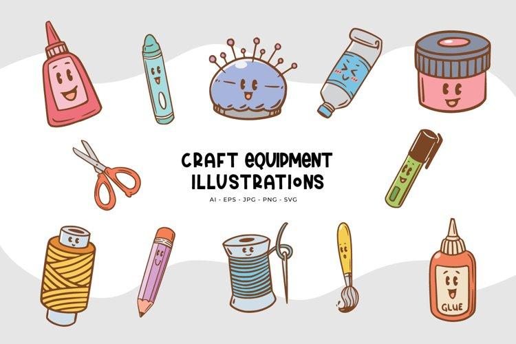 Craft Equipment Illustrations