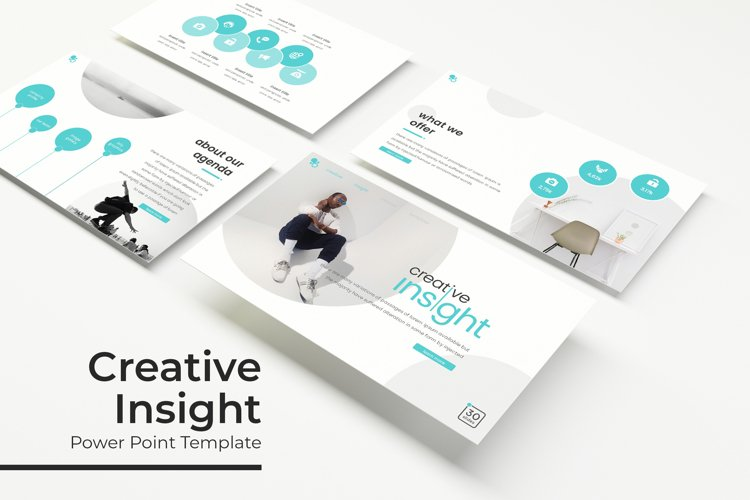 Creative Insight Power Point Template example image 1