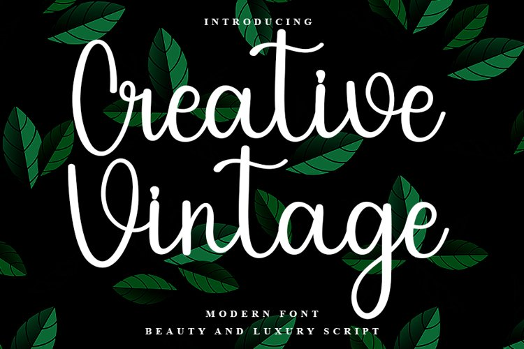 Creative Vintage example image 1