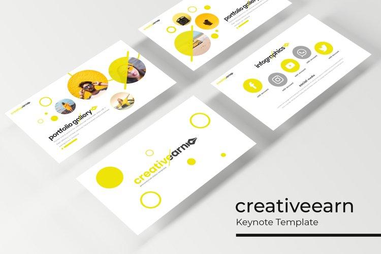 Creativeearn Keynote Template example image 1