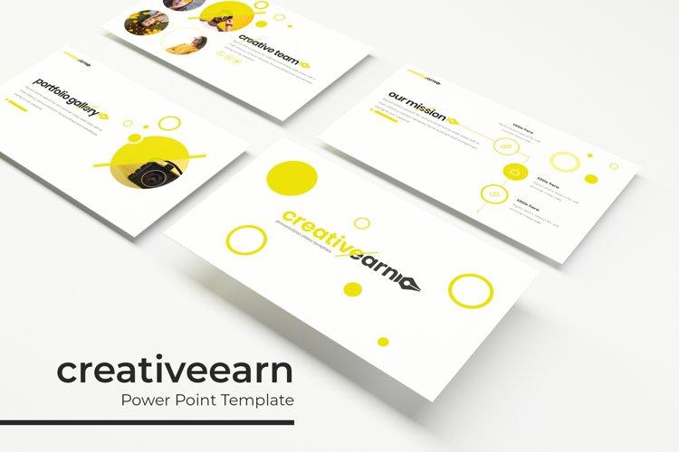 Creativeearn Power Point Template example image 1