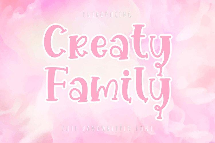 Creaty Family example image 1
