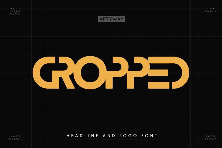 Cropped Logo Font example image 1