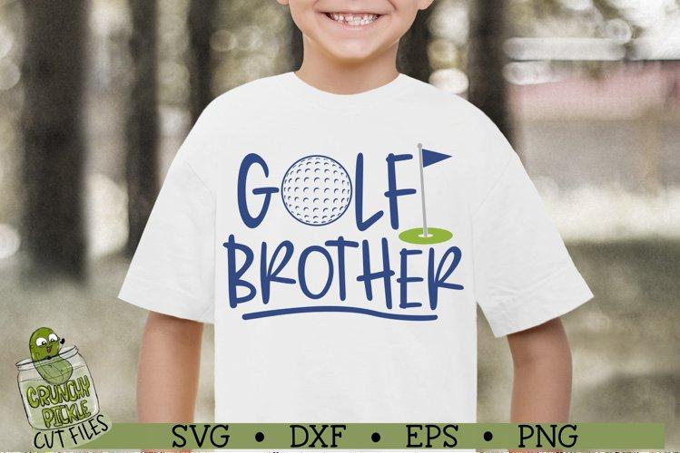 Golf Brother SVG File