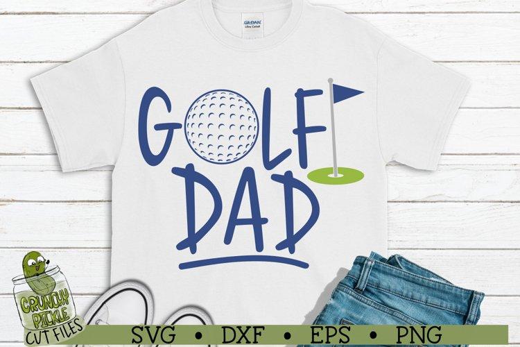 Golf Dad SVG File