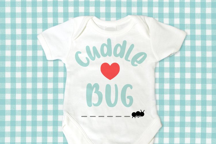Cuddle Bug with Ant SVG File