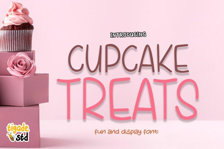 Cupcake Treats - Cute Display Font example image 1