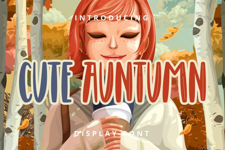 Cute Auntumn example image 1