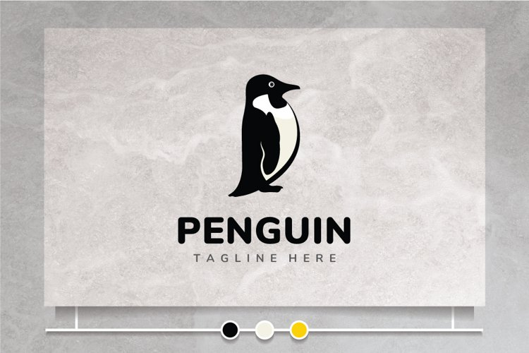 Cute Penguin - Logo Design
