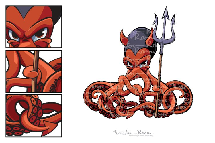 Octopus the Devil example image 1