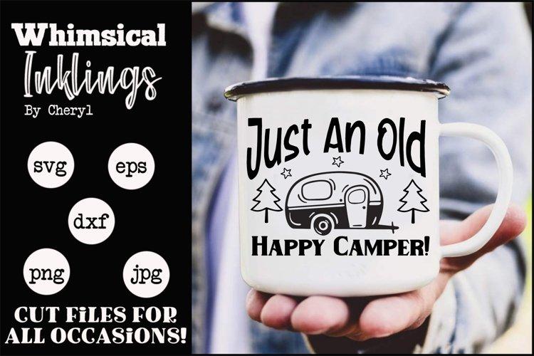 Old Happy Camper SVG